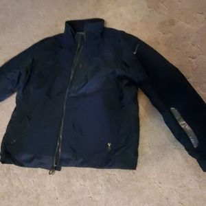 Nike,  light weight men's coat. Waterproof. Blue